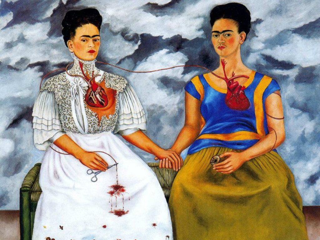Las dos Fridas - Kahlo