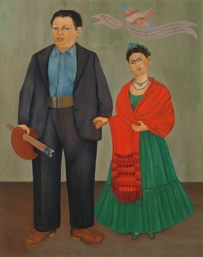 Frida y Diego Rivera - Kahlo