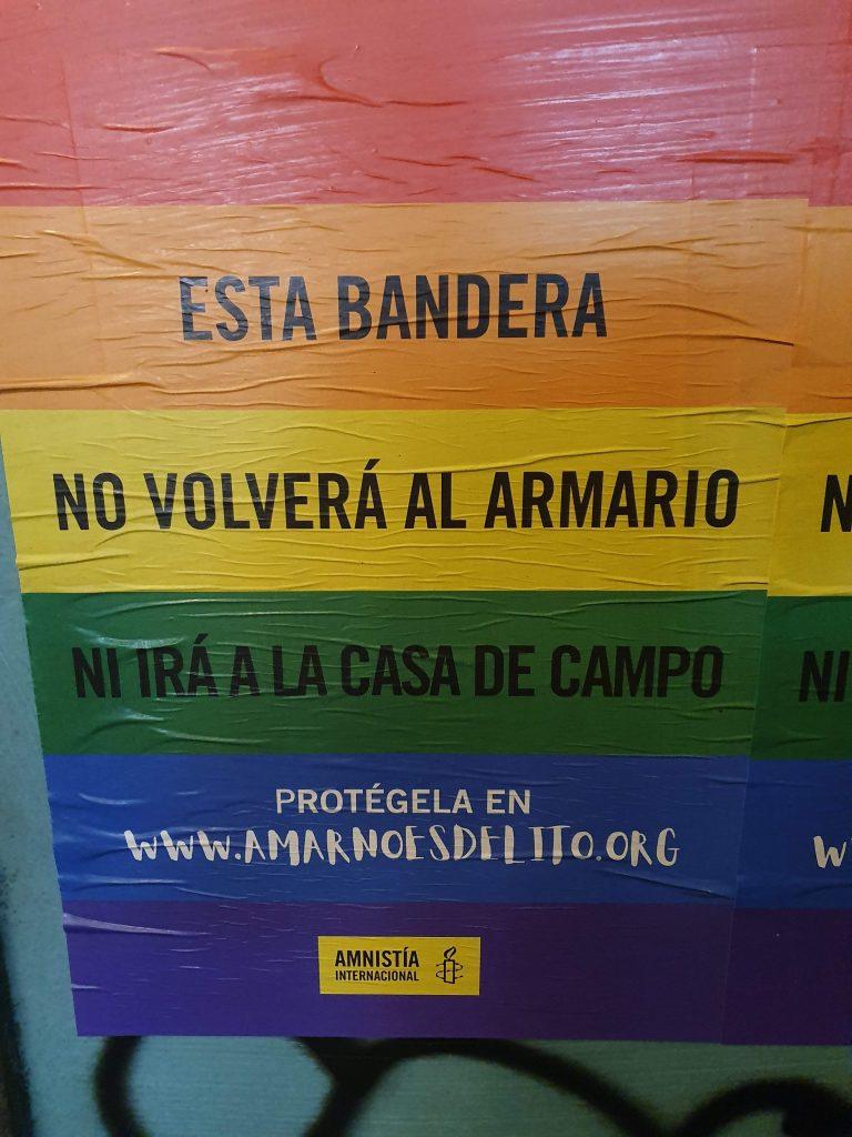 Carteles Orgullo 2019 Amnistía Internacional