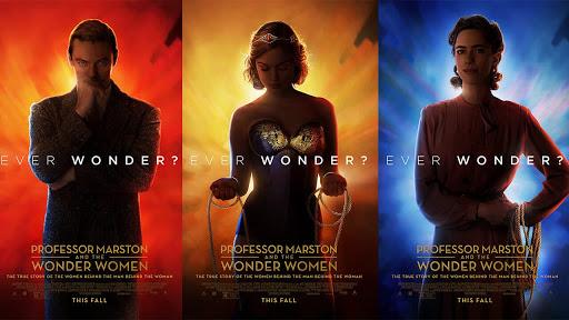 Película Wonder Woman y el profesor Martson