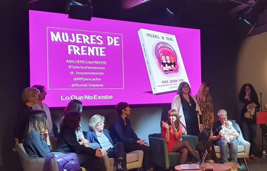 Presentación de Mujeres de Frente en Madrid